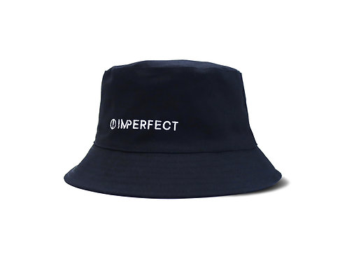 EMBROIDERED BUCKET HAT (REVERSIBLE)