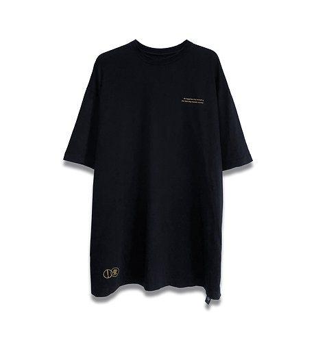 IMPERFECT X FIRST ATTEMPT OVERSIZED TEE (BK)