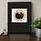 Thumbnail: Black Cat on Gold Rug