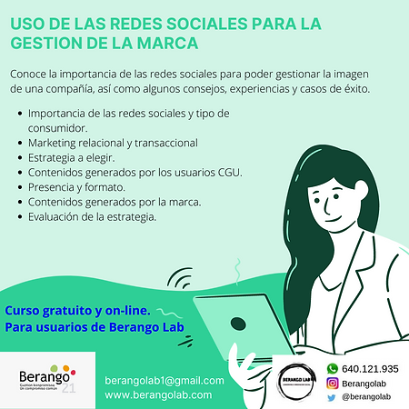 USO DE LAS REDES SOCIALES PARA LA GESTIO
