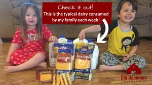 Dairy consumed per week