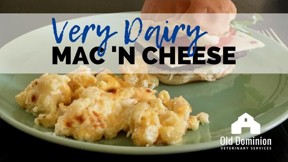 Very Dairy Mac N Cheese