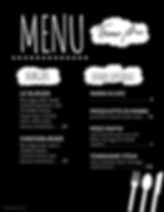 Copy of Menu with rapini- Made with Post