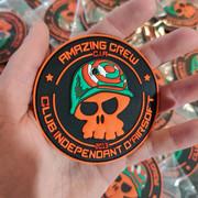 Patchs PVC 3D pour CIA