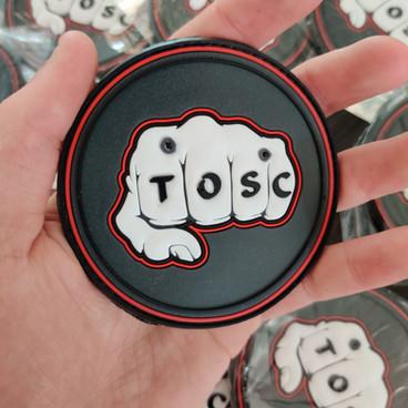 Patch PVC 3D pour la TOSC