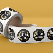 Etiquettes pour Thai Corner