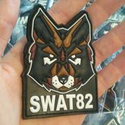 Patch PVC 3D pour SWAT82
