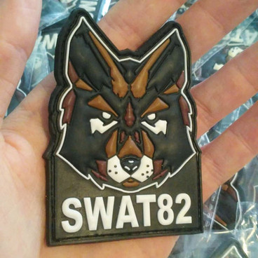 Patch PVC 3D pour SWAT82