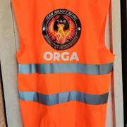 Gilet Orange Team Airsoft Reims