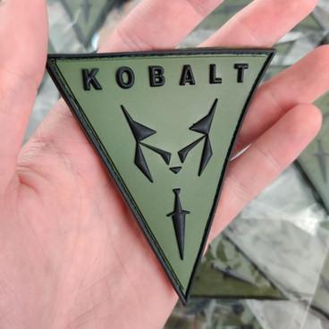 Patch PVC 3D pour KOBALT