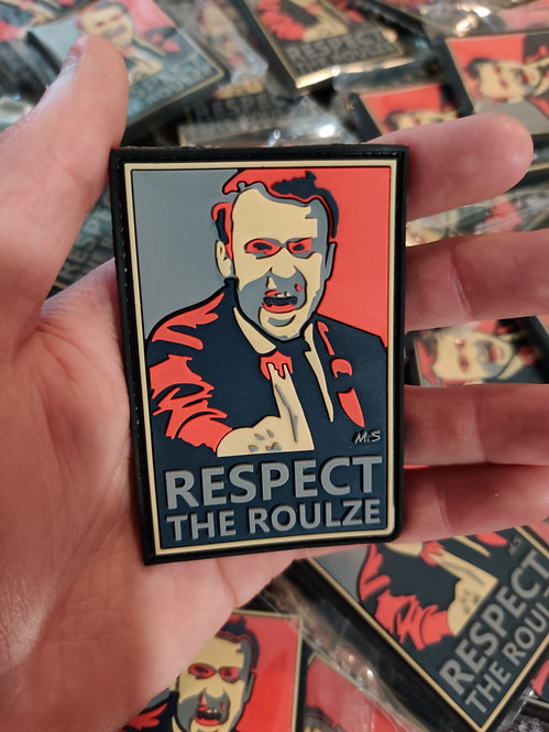 """Patch """"Respect The Roulze"""""""