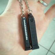 Porte-clé Chargeur Glock (Impression 3D)
