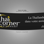 Banderole Thai Corner