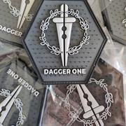 Patchs PVC 3D pour Dagger One