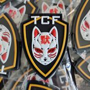 Patchs PVC 3D pour TCF