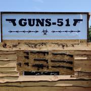 Banderole GUNS-51