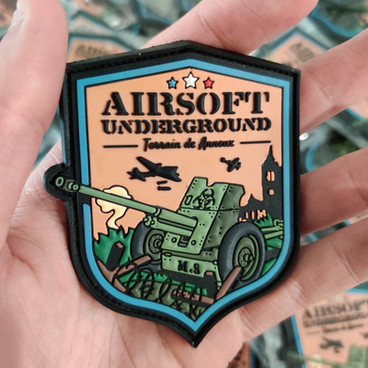 Patch PVC 3D pour Airsoft UnderGround