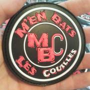 Patch PVC 3D pour MBC