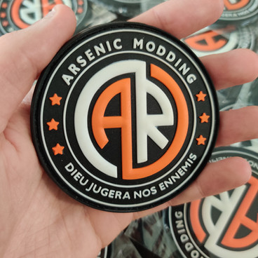Patch PVC 3D pour Arsenic Modding