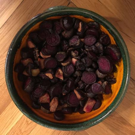 Sült cékla birssel és kölessel / Baked Beetroot with Quince and Millet