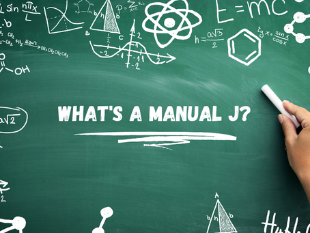 What Is a Manual J?