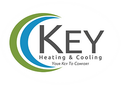 Key Heatin& Air Conditioning Logo