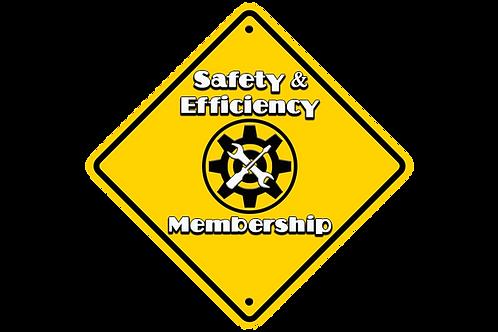 1 Year Safety & Efficiency Membership