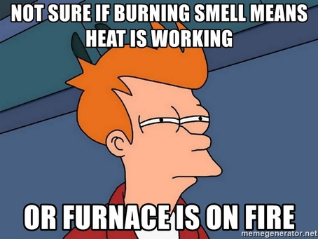 Does Your Furnace Smell? 5 Furnace Odors and What They Mean