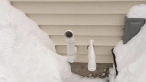 Keep Furnace Vents Clear of Snow & Ice