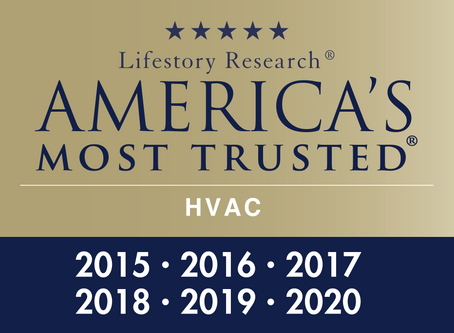 Trane Named Americas Most Trusted HVAC Brand 6 Years in a Row