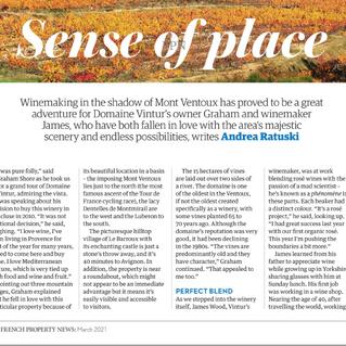 Domaine Vintur in Living France Magazine 📰