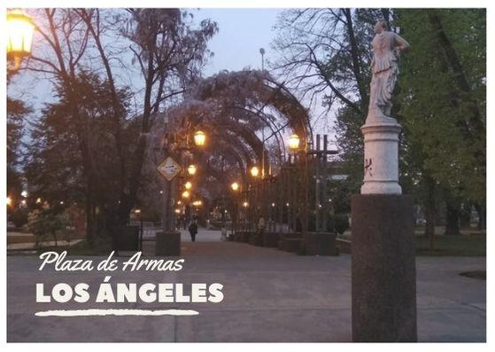 Qué hacer en Los Ángeles Chile, Plaza de Armas