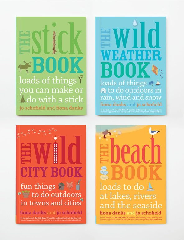 Series of craft books for children