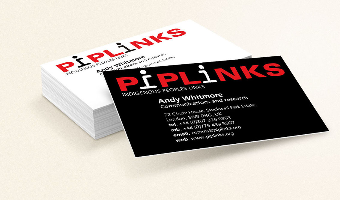Piplinks business cards