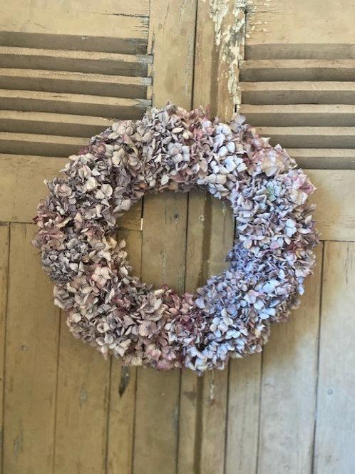 Large Hydrangea Wreath