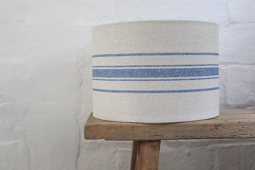 Peony & Sage Danish Blue Grainsack Lampshade