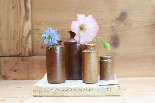 Sweet Vintage Pots (Set of four)