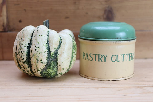 Vintage Pastry Tin & Cutters