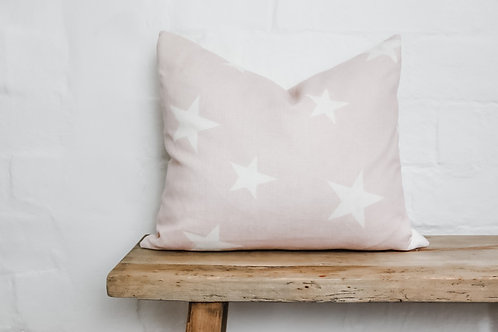 Peony & Sage All Star in Pale pink & Ivory Cushion