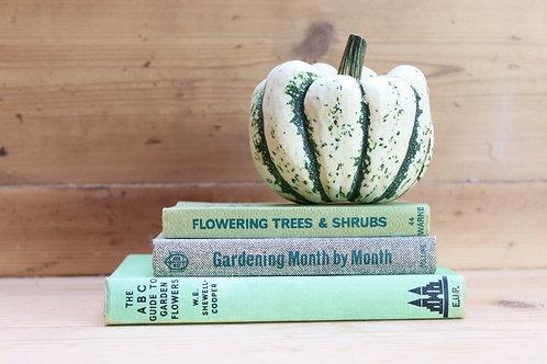 Set of Vintage Gardening Books