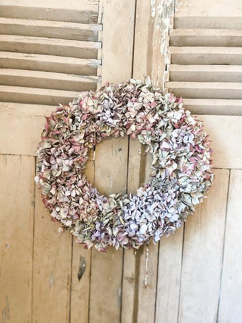 Medium Hydrangea Wreath