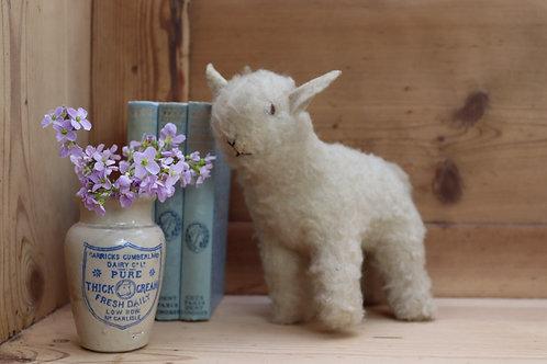 Vintage Toy Lamb