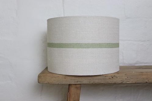 Peony & Sage Capri Stripe Grainsack Lampshade