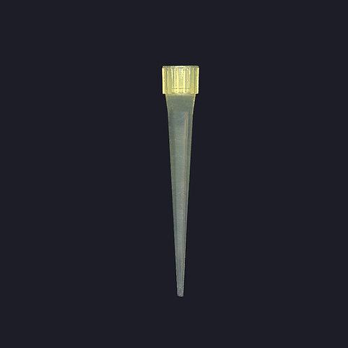 Puntas para micropipeta tipo eppendorf con corona 5-200 ul