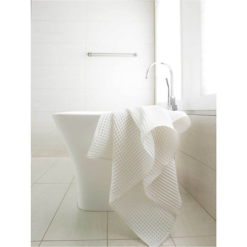 Waffle Towel- White