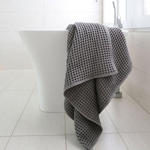 Waffle Towel- Grey