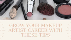 Grow Your Makeup Artist Career with These 4 Tips