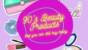10 Beauty Products from the 90s that you can Still Buy Today!