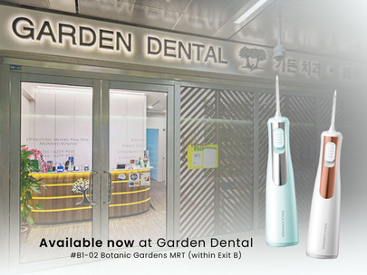 Garden Dental Clinic takes to selling Raldmoyer Dental Water Jet