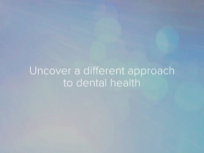 A new way to dental health - CF100